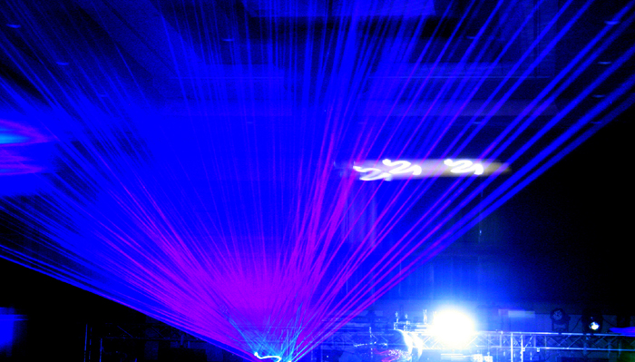 Blue Laser Lights