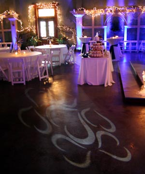 Gobo Designs for dancefloor